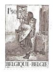 Sellos de Europa - Bélgica -  grabado
