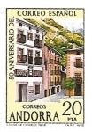 Sellos de Europa - Andorra -  correo español