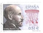 Stamps : Europe : Spain :  Ramón y Cajal