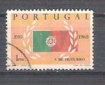 Sellos de Europa - Portugal -  RESERVADO 5 de octubre Y883