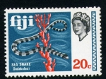 Stamps Oceania - Fiji -  serpiente marina