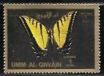 Sellos del Mundo : Asia : Emiratos_Árabes_Unidos : Mariposas - large format
