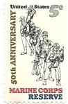 sello : America : Estados_Unidos : U.S.Marines reserva