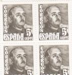 Sellos de Europa - España -  general Franco (39)