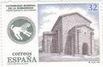 Stamps : Europe : Spain :  PATRIMONIO CULTURAL DE LA HUMANIDAD-Santa Cristina de Lena (39)