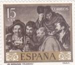 Stamps Spain -  Los borrachos (Velazquez)(39)