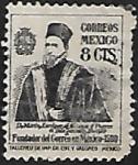 Sellos del Mundo : America : México : Virrey Martín Enríquez Almanza, fundador del Correo en Nueva España