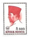 Sellos de Asia - Indonesia -  básica
