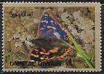Sellos del Mundo : Asia : Emiratos_Árabes_Unidos : Mariposas - Purple emperor