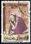 Stamps : Africa : São_Tomé_and_Príncipe :  Adoracion del niño por by Durer