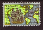 Sellos de America - Estados Unidos -  New Sweden 1638