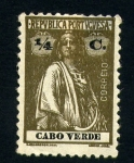Stamps Africa - Cape Verde -  segador