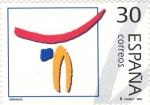 Stamps : Europe : Spain :  Gimnasia (39)