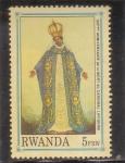 Stamps : Africa : Rwanda :  100 aniversario de la muerte del cardenal Lavigerie
