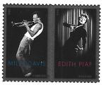 Stamps : America : United_States :  músicos