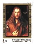 Stamps : Europe : Hungary :  pintura alemana