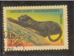 Sellos de Africa - Madagascar -  pantera negra