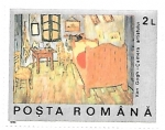 Sellos de Europa - Rumania -  pintura francesa