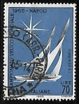 Stamps : Europe : Italy :  5.5 m class boats