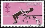 Sellos de Europa - Polonia -  Juegos olímpicos -  Salto de Altura