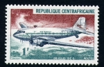 Stamps Africa - Central African Republic -  duglas d.c. 3