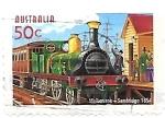 Stamps : Oceania : Australia :  locomotoras