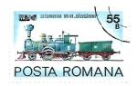 Sellos de Europa - Rumania -  locomotoras