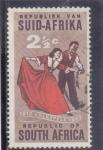 Stamps South Africa -  50 Aniversario de Volkspele (Folk-dancing) en Sudáfrica