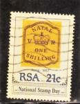 Sellos del Mundo : Africa : Sudáfrica :  Día del sello