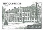 Sellos del Mundo : Europa : Bélgica : arquitectura
