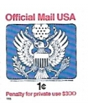 Stamps : America : United_States :  correo oficial