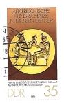 Stamps : Europe : Germany :  arte egipcio
