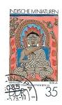Sellos de Europa - Alemania -  pinturas hindus