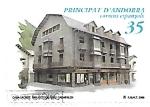 Sellos de Europa - Andorra -  arquitectura