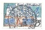 Sellos de Africa - Túnez -  grabado