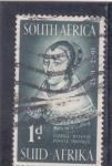 Sellos de Africa - Sudáfrica -  Maria de la Quellerie, esposa de Jan van Riebeeck