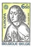 Stamps : Europe : Belgium :  Dirk Bouts