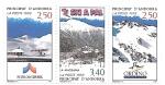 Sellos de Europa - Andorra -  ski a pal