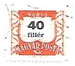 Sellos de Europa - Hungría -  básica