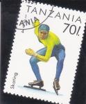 Sellos del Mundo : Africa : Tanzania : Skating