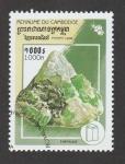 Sellos de Asia - Camboya -  Esmeralda