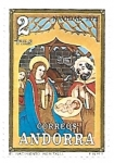 Stamps : Europe : Andorra :  navidad