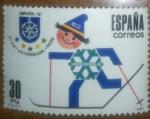 Stamps Europe - Spain -  fisu universiada fedu 30 pta