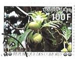 sello : Africa : Comores : plantas
