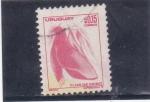 Sellos del Mundo : America : Uruguay : flor de ceibo