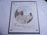 Stamps America - Colombia -  Papa Francisco. Visita Apostólica a Colombia 2017-Hoja de Recuerdo N° 00123.