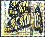 Stamps : America : Mexico :  MARIPOSA  MONARCA,  DANAUS  PLEXIPPUS.