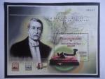 Stamps America - Colombia -  Bicentenario del Natalicio de Manuel Murillo Toro (1816- 2016) - Telégrafo-Mapa de la Gran Colombia.