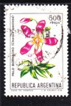 Sellos de America - Argentina -  flores- Palo borracho