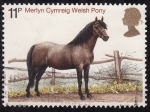 Stamps United Kingdom -  Caballos